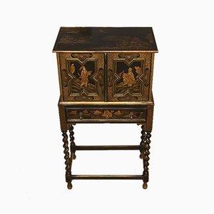 Antique Edwardian Oak Cabinet