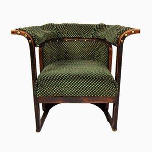 Chaise Buenos Aires Antique par Josef Hoffmann pour J. & J. Kohn