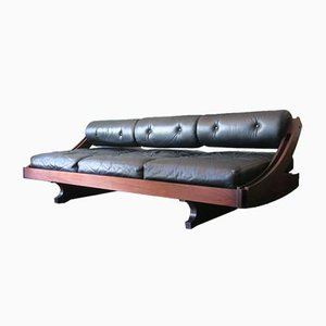 Rosewood Model GS195 Daybed by Gianni Songia, 1960s