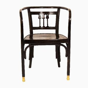 Art Nouveau Model 721 Chair by Otto Wagner, 1902