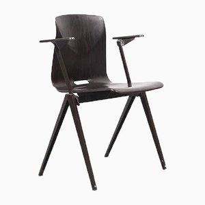 Mid-Century Ebonized Pagwood Armchair, 1960s