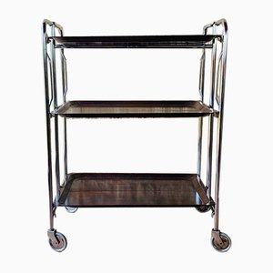 Mid-Century French 3-Tier Bar Cart