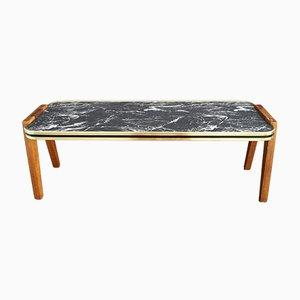 Tavolino Mid-Century in teak e formica, anni '50