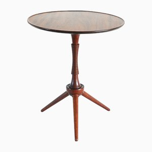 Danish Mahogany Side Table by Frits Henningsen, 1940s