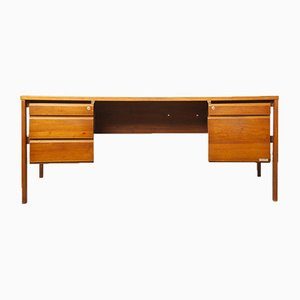 Mid-Century French Cherry Desk from Burwood, 1960s