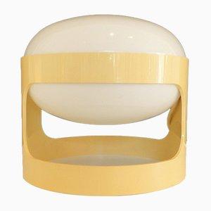 Italienische Mid-Century Tischlampe aus Kunststoff & Methacrylat von Joe Colombo für Kartell