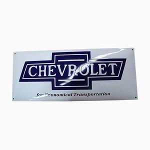 Vintage Chevrolet Schild