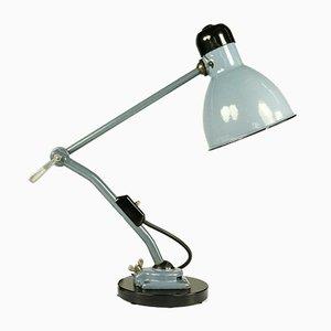 Industrielle deutsche Tischlampe aus Stahl von Kandem Leuchten, 1940er