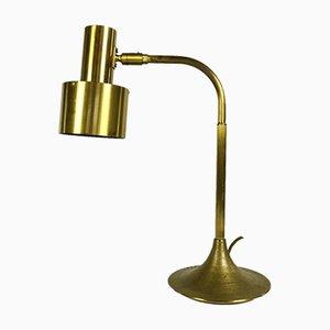 Dänische Mid-Century Tischlampe aus Messing
