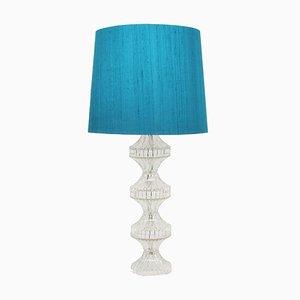 Italienische Mid-Century Tischlampen aus Glas, 1960er, 2er Set