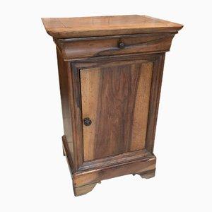 Mueble auxiliar antiguo de nogal