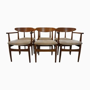 Sedie da pranzo in teak di Ib Kofod-Larsen per G-Plan, anni '60, set di 6