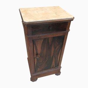 Antiker Beistellschrank aus Holz