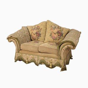 Französisches Mid-Century Sofa aus Stoff, 1950er