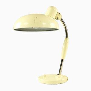 Lampada da tavolo industriale in metallo di Christian Dell per Koranda, anni '30