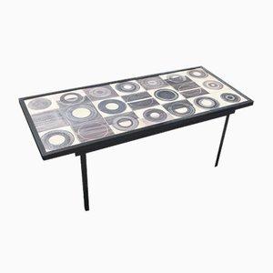 Table Basse en Céramique par Mado Jolain & Rene Legrand, France, 1950s