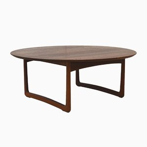 Teak FD 10/50 Coffee Table by Peter Hvidt & Orla Mølgaard-Nielsen for France & Søn, 1950s