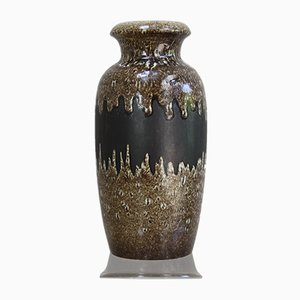 Deutsche Mid-Century Keramikvase von Scheurich, 1960er