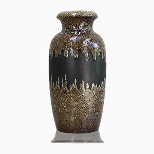 Vaso Mid-Century in ceramica di Scheurich, Germania, anni '60