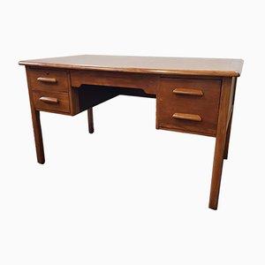 Mid-Century Schreibtisch aus Eichenholz, 1950er