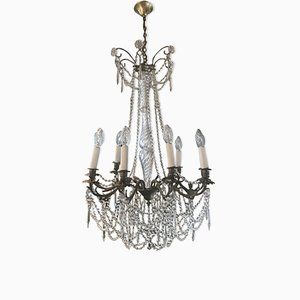 Lustre Antique en Cristal