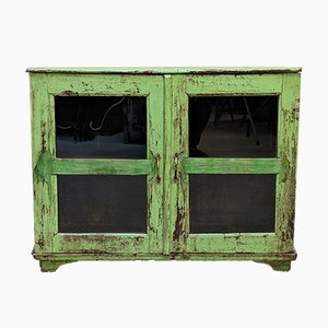 Mid-Century Rustic Display Cabinet, 1960s