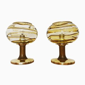 German Table Lamps from Doria Leuchten, 1960s, Set of 2