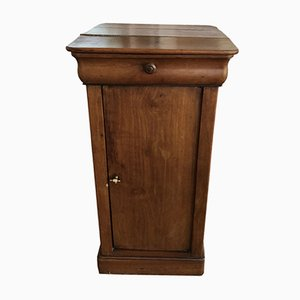 Antique Louis Philippe Style Walnut Cabinet