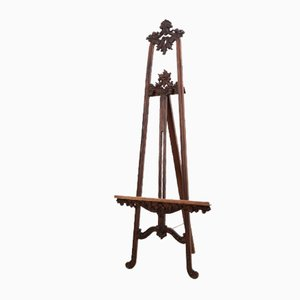 19th-Century Walnut Easel