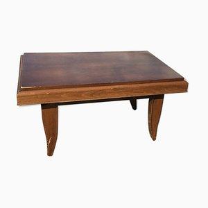 Table de Salle à Manger ou Table Basse Ajustable Vintage