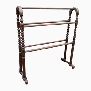 19th Century Mahogany Towel Rail