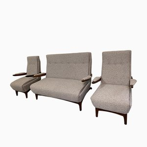 Sofa and Amchairs Set from Greaves & Thomas, 1960s