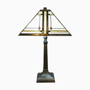 Lampe de Bureau Tiffany, 1920s