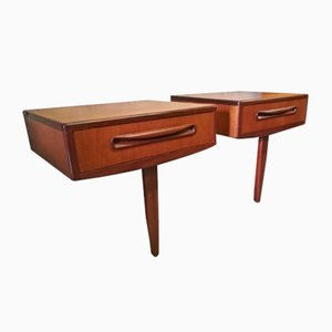 Tables de Chevet en Teck de G-Plan, 1960s, Set de 2