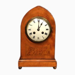 Antique Satinwood Mantel Clock, 1900s