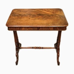 Antique Mahogany Side Table, 1850s
