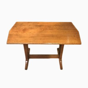 Antiker Esstisch aus Eichenholz, 1920er