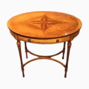 Antiker Konsolentisch aus Seidenholz