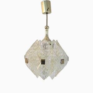 Vintage Acrylic Pendant, 1970s