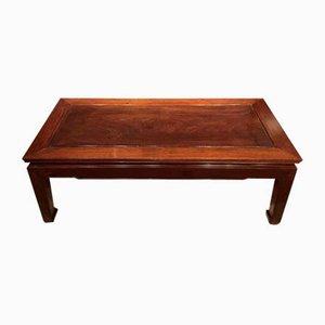 Mesa de centro vintage de madera, años 20