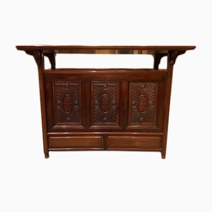 Antique Walnut Console Table