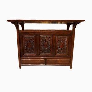 Table Console Antique en Noyer