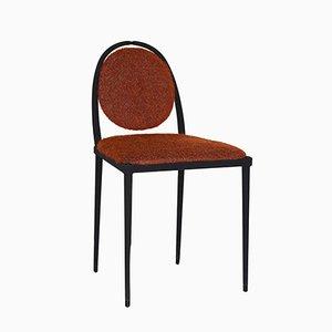 Balzaretti Stuhl aus terrakottafarbenem Mohair von Daniel Nikolovski & Danu Chirinciuc für KABINET