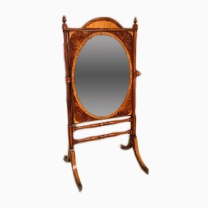 Antique Regency Mahogany Mirror
