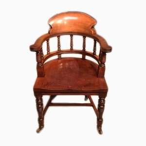 Antique Victorian Mahogany Armchair