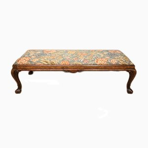 Banc George I Antique en Noyer