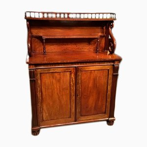 Large Antique Mahogany Buffet