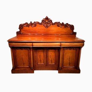 Antique Victorian Mahogany Credenza