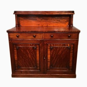 Large Antique William IV Mahogany Buffet