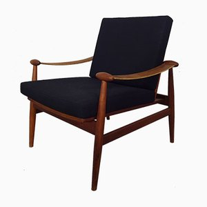 Model 133 Teak Armchair by Finn Juhl for France & Søn, 1960s